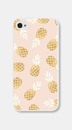 Gold Pineapple Gold iPhone Case