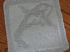 One Crafty Mama: Orca Whale Dishcloth