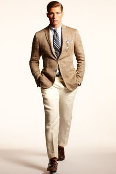 Why don't guys dress like this all the time anymore??? Ralph Lauren