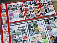 printed screen shots of your Pinterest boards to show what you love now