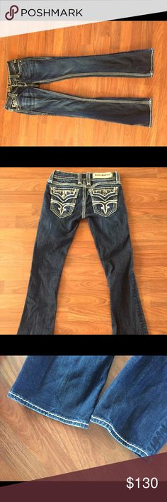 Rock revival jeans Like new rock revival jeans, size 25! Message if interested :) I WILL LOWER PRICE on pp or vinteddddd Rock Revival Jeans Boot Cut
