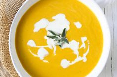 A homemade rich creamy roasted butternut squash soup with sage is the perfect Fall comfort food! Easy French Bread Recipe, Easy Bread Recipes, Tostadas, Chewy Peanut Butter Cookies, Pecan Cookies, Best Pumpkin Pie Recipe, Roasted Butternut Squash Soup, Homemade Dinner Rolls, Tomato Cream Sauces