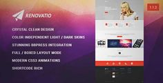 Download and review of Renovatio - Reinvent Yourself, one of the best Themeforest Creatives themes