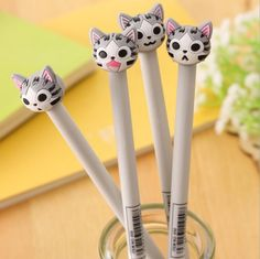 $0.50 (Buy here: https://alitems.com/g/1e8d114494ebda23ff8b16525dc3e8/?i=5&ulp=https%3A%2F%2Fwww.aliexpress.com%2Fitem%2F1-Piece-Korean-Stationery-Cartoon-Cute-Cat-Pen-Advertising-Creative-Bent-School-Office-Gel-Christmas-Gift%2F32764946312.html ) 1 Piece Korean Stationery Cartoon Cute Cat Pen Advertising Creative Bent School Office Gel Christmas Gift for just $0.50