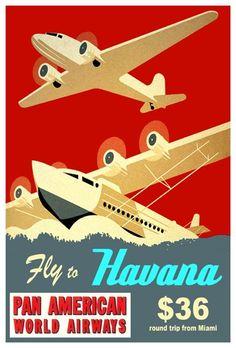 Havana on Pan American World Airways