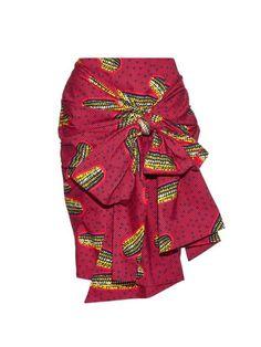 Designer Inspired Ankara Skirt