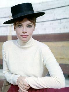 Leslie Caron  Fantastic Hat!!