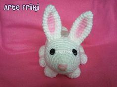 conejo amigurumi rabbit bunny campo peluche crochet ganchillo muñeco