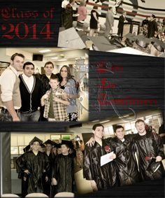 2014 graduation collage by Spitting Image by Allison