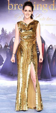 Kristen Stewart at the Twilight premiere