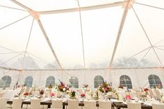 Florist by twiggbotanicals.com/index2.php;  beautiful clear top tent. Perfect for an evening wedding under the stars!