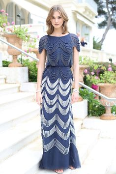 Karlie Kloss in Chanel haute couture at Cannes