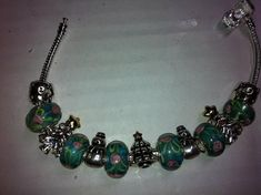 Christmas and pigs Silver snowmen turquoise/green by InHogHeaven