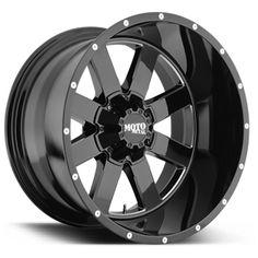 Moto Metal Series MO 962 Wheel in Gloss Black for 07-16 Jeep Wrangler JK & JK Unlimited