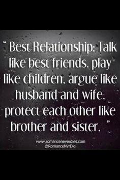 Best relationships ...