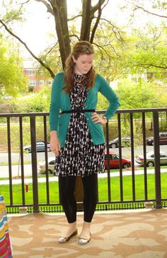 dress and leggings | Two Take on Style