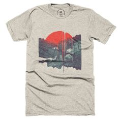 """Sun Spills; Night Falls"" designed by Brent Schoepf. It's gonna be an extra pretty end of the world."