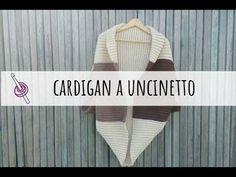 Cardigan a uncinetto facile per tutte le taglie - YouTube Cardigan, Crochet, Youtube, Sweaters, Fashion, Amigurumi, Moda, Fashion Styles, Ganchillo