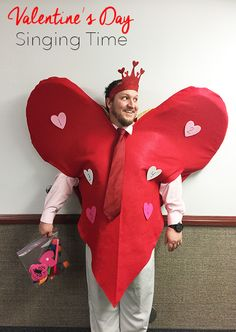 Heart Costume for LDS Primary Chorister Singing Time