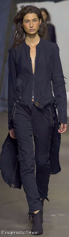 Greg Lauren Spring 2015 Ready-to-Wear not my color, I know! but i love the look, so gonna pretend it is :D