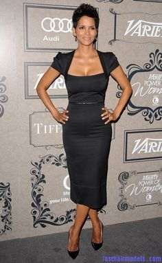 Last Hair Models , Hair Styles | Halle berry's famous short crop hairstyle: plucked out hairstyle beautiful!