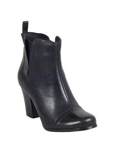 Miz Mooz Sarah Booties in Black
