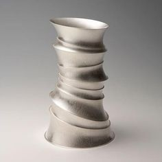 Mihwa Joo - Korea: Winner of Hollowware Award at 15th Silver Triennial, Sterling Silver, 215x130mm