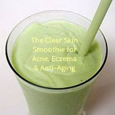 This smoothie for better skin is designed to provide plenty of the nutrition your skin needs to look its best. The recipe is full to bursting with antioxidants, healthy fats and specific nutrients to help prevent and treat acne, eczema and other forms of skin inflammation.