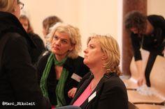 Ute und Anke auf dem stARtcamp München #scmuc13