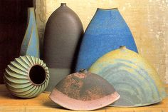 Emily Myers - Group of mixed pots: 2002
