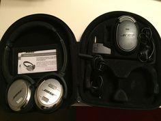 Bose QuietComfort 3 Headband Headphones - Black/Silver #Bose