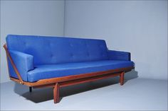 Daybed / Sofa in solid Teak by Poul M. Volther