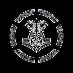 NORTHERN NAVY by RAIDHO Celtic Warrior Tattoos, Norse Tattoo, Wiccan Tattoos, Inca Tattoo, Viking Tattoos, Mayan Symbols, Viking Symbols, Egyptian Symbols, Viking Runes