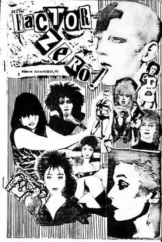 art of the punk zine. I like the leopard print effect in the ...