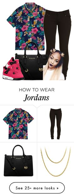 """""""."""" by trillest-princess101 on Polyvore featuring MICHAEL Michael Kors and Retrò"""