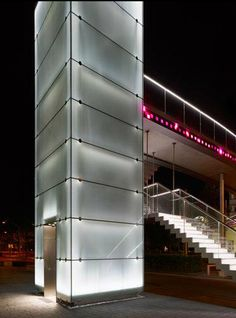 Iluminación interactiva en el Puente Telekom / Licht Kunst Licht,© Lukas Roth / Vía lichtkunstlicht
