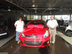 Congratulations to Mr and Mrs Mills with the purchase of her new Kia Rio in November 2014. Thank you to Neville de Wee who made this possible. Welcome to the Kia Family.