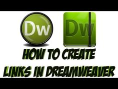 Learn how to link pages in Adobe Dreamweaver