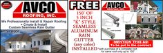 Tyler, Texas: http://www.avcoroofing.com/gutters.htm We will professionally install your roofing & seamless rain gutter.