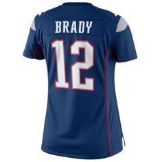 Nike NFL Limited Jersey - Women's - Football - Fan Gear - Patriots - Brady, Tom - Navy