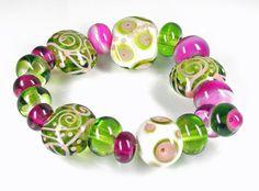 Lampwork Beads SRA by Katie Mankau