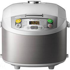 Panela Elétrica Philips Walita Multicooker 12 Funções com Timer Aço Inox 5L