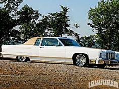 1976 Lincoln Town Car - Lowrider Magazine