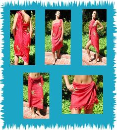 Lotus Resort Wear's Suggest Resort Wear/ Swim Cover Up, Sarong Fashion from the Web!  Sarong How To How to tie a sarong Sarong Care. just ignore the first three minutes