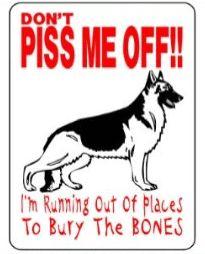 German Shepherd Dog sign $13.00