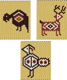 Image detail for -com here southwest critters 2 category native american stitch peyote ...