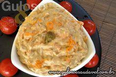 Patê de Atum e Cenoura » Patês e Pastas, Receitas Saudáveis » Guloso e Saudável