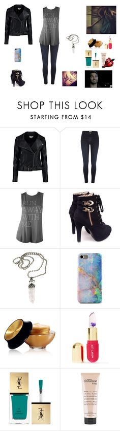 """""""The Twin Alpha's #29"""" by jazmine-bowman on Polyvore featuring Boohoo, River Island, Haute Hippie, IYATO, Yves Saint Laurent, Winky Lux and philosophy"""