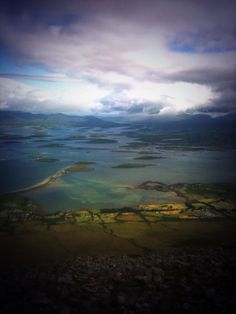 Clew Bay from the top of Croagh Patrick on Reek Sunday (Pic: Karl Burns)