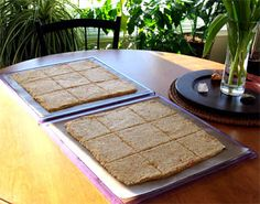 Almond flour bread and pizza crust